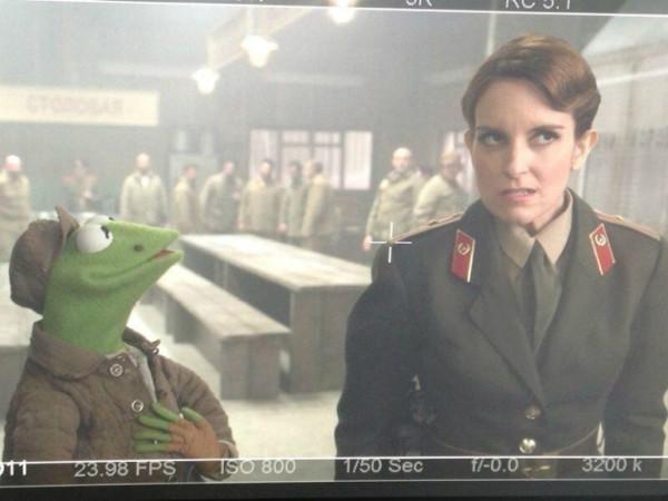 Tina Fey bei den Muppets
