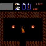 Zelda mit Schwert