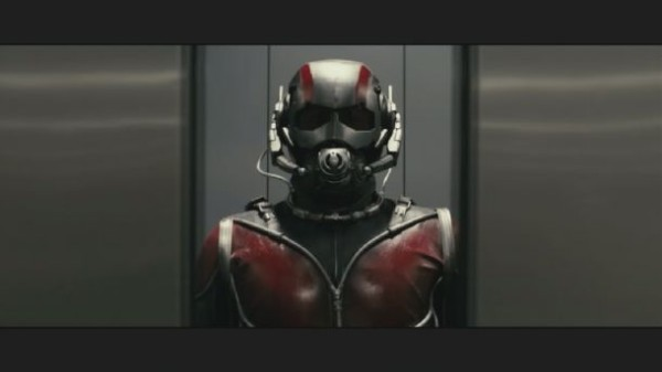 Szene aus dem Ant-Man Footage