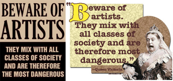 Beware Of Artists - McCarthy