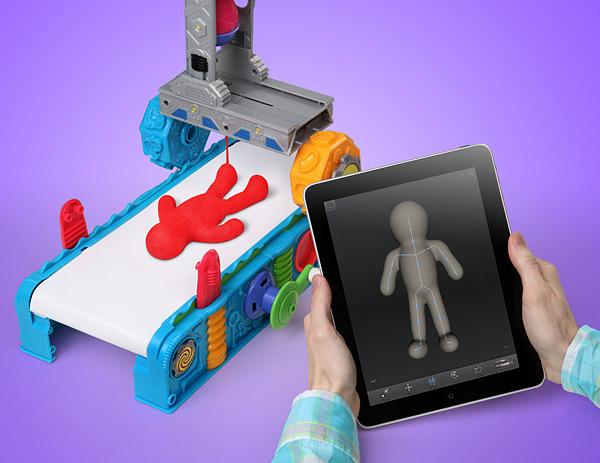 Play-Doh 3D-Drucker