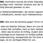 Selbstmordattentäter und unser Innenminister
