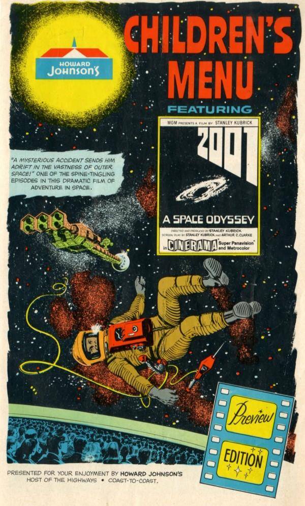 Comic zu 2001 - Odyssee im Weltraum