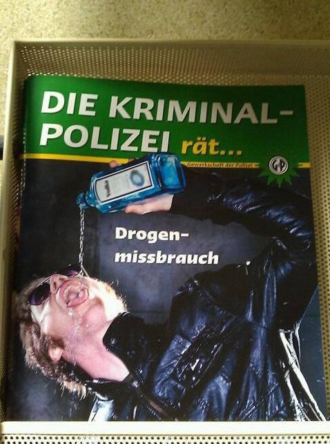 Die Kriminalpolzei rät... Drogenmissbrauch