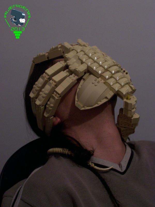 Facehugger aus LEGO