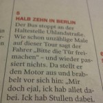 Halb Zehn in Berlin