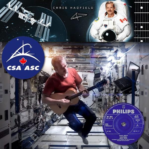 Chris Hadfield singt Space Oddity