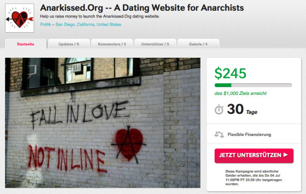 Screenshot: Anarkissed Crowdfunding