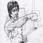 Bruce Lee von Max Müller