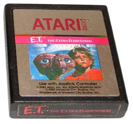 E.T. Atari 2600 Cartridge