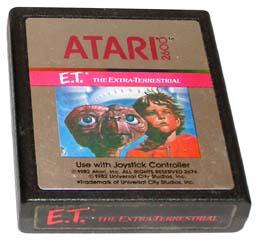 E.T. Atari 2600 Cartridge