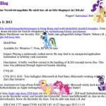 Ponies für Fefe