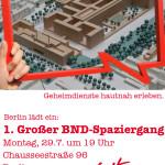 1. Großer BND-Spaziergang