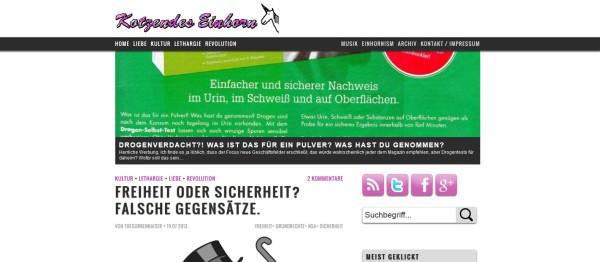 Einhorn Relaunch