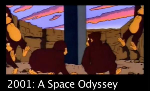 2001 bei den Simpsons