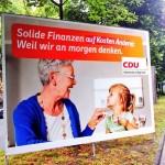 CDU - Auf Kosten anderer