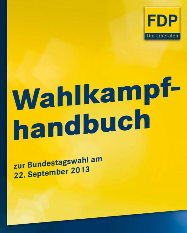 FDP Wahlkampfhandbuch