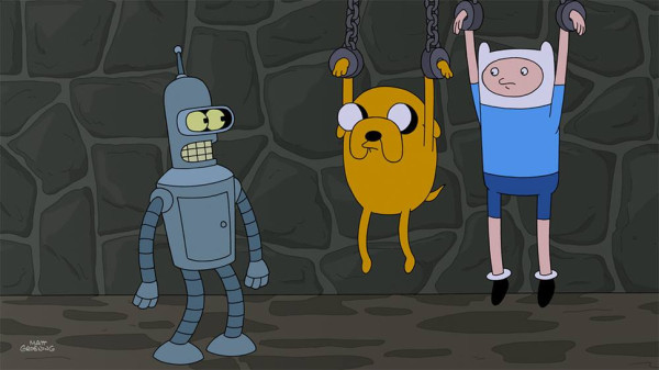 Futurama & Adventure Time