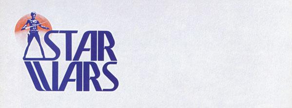 Star Wars Logo Entwurf