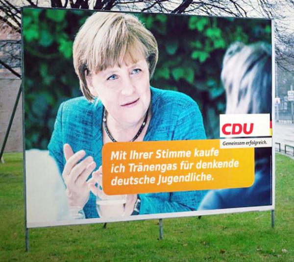 CDU kauft Tränengas