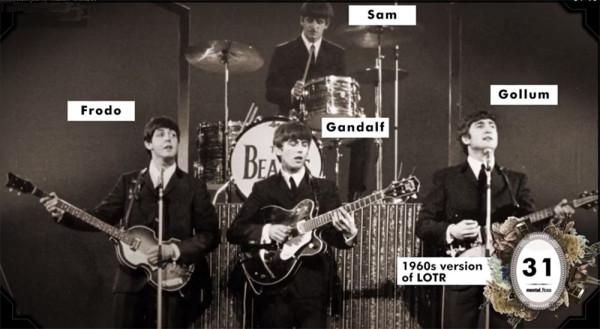 Beatles als Hobbits?!