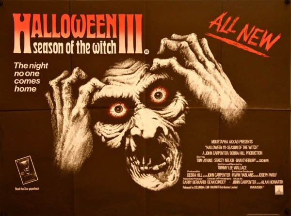 Originalposter zu Halloween III - Season of the Witch