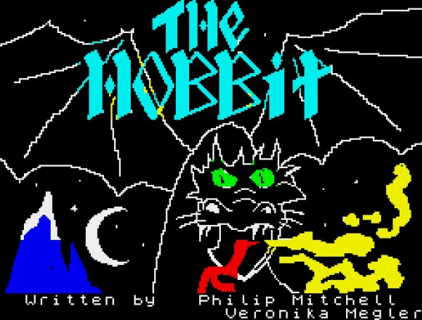 The Hobbit - Adventure Game für ZX Spectrum