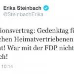 Erika Steinbach und die Vertriebenen