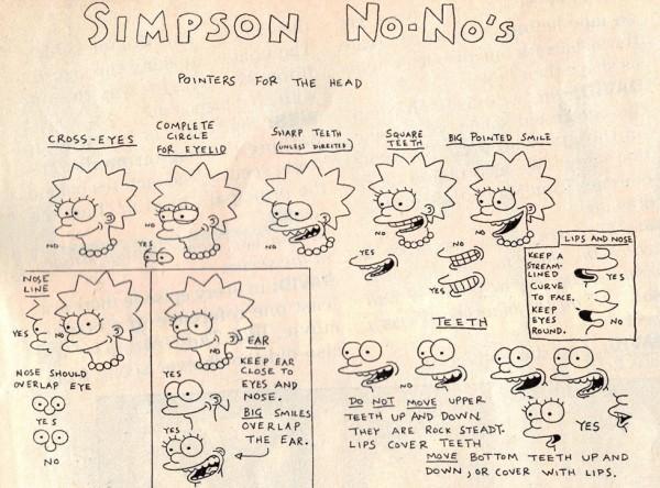 Simpsons No No's
