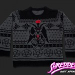 Baphomet Weihnachts-Pullover