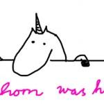 Einhorn was here...