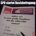 SPD startet Basisbefragung (Satire der Titanic)