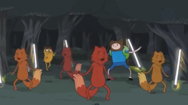 Adventure Time - What does the fox say?!