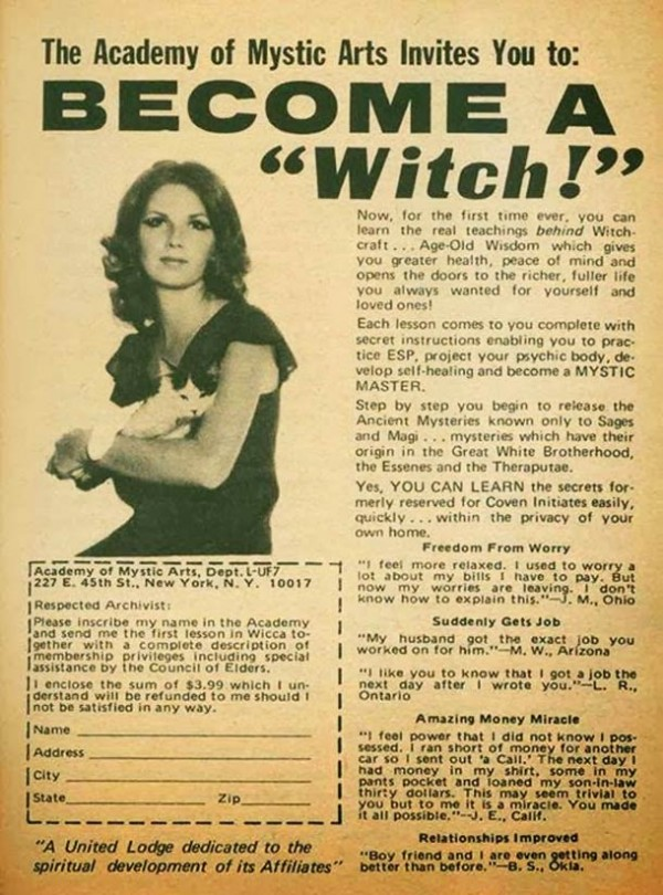 Become a witch!