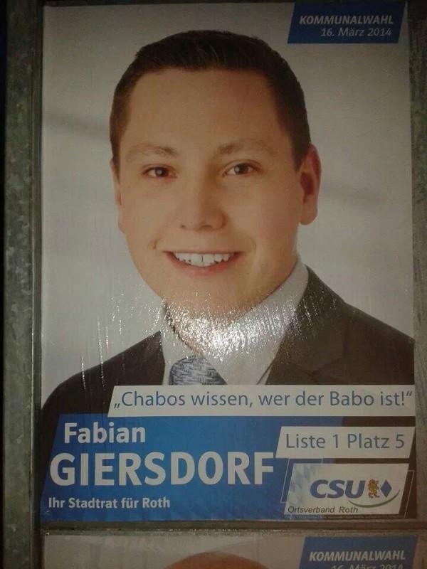 Fabian Giersdorf - Der Babo der CSU