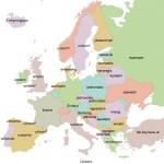 Einhorn in mehreren (europäischen) Sprachen