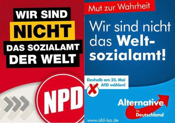 AfD / NPD - Weltsozialamt