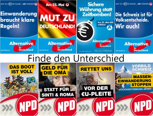 AfD vs. NPD