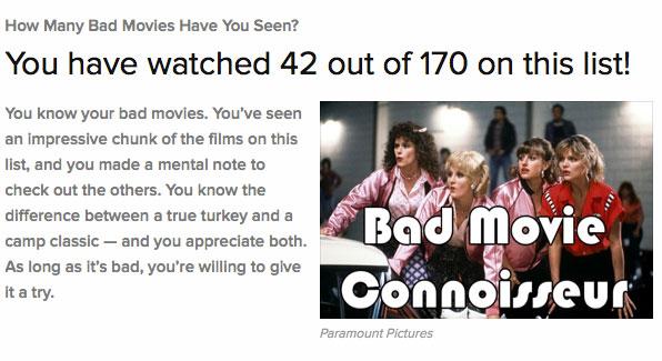 Bad Movies