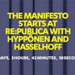 David Hasselhof auf der Re_publica 14