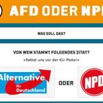 AfD oder NPD?!