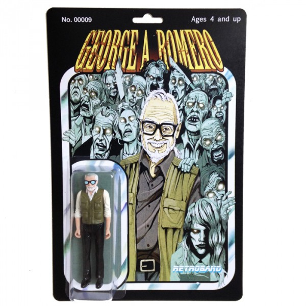 George A. Romero Actionfigur