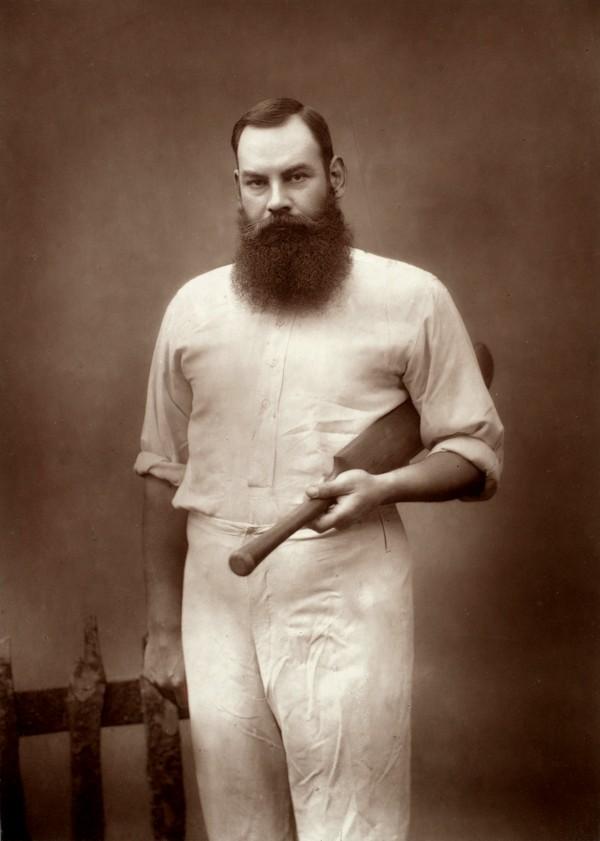 W.G. Grace (Public Domain)