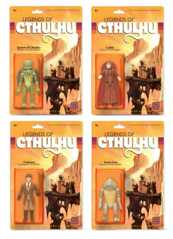 Legends Of Cthulhu Actionfiguren
