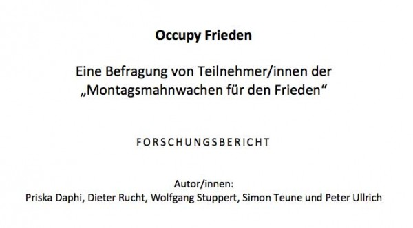 Occupy Frieden