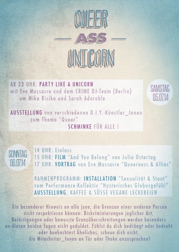 Queer Ass Unicorn