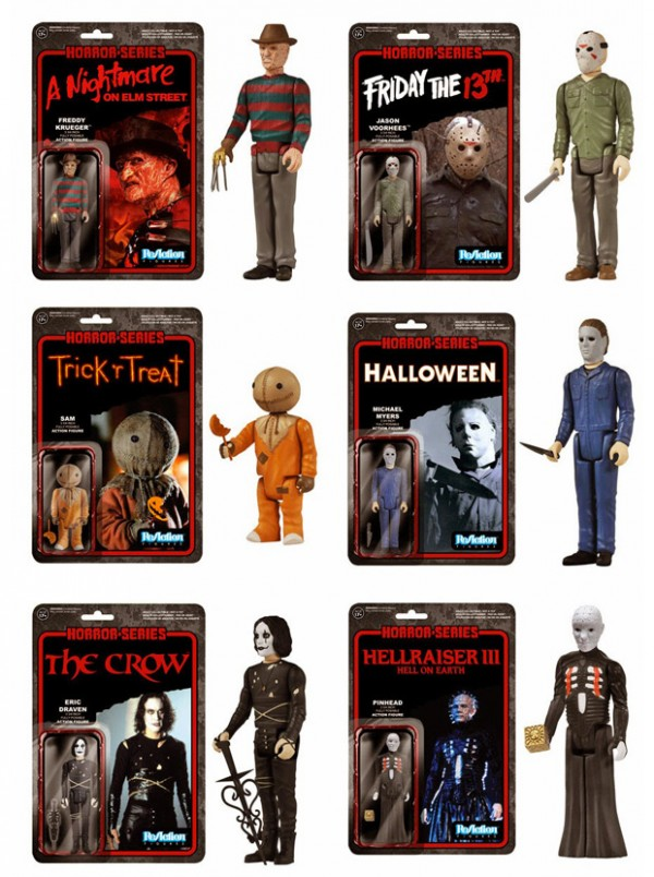Horror-Film-Actionfiguren