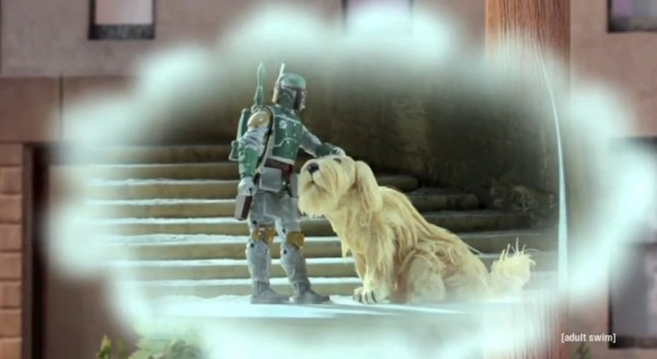 Boba Fett mit Hund