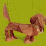 Dackel-Marionette