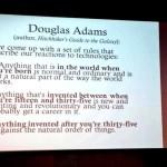 Douglas Adams über Technik